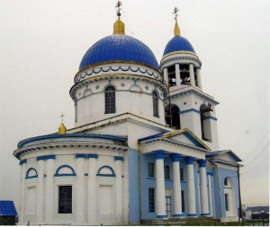 """Храм """"Знамение"""" 2007 год"""
