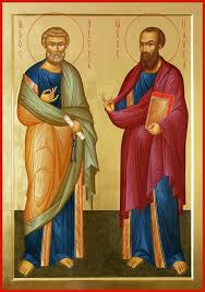 Богослужения в день праздника святых апостолов